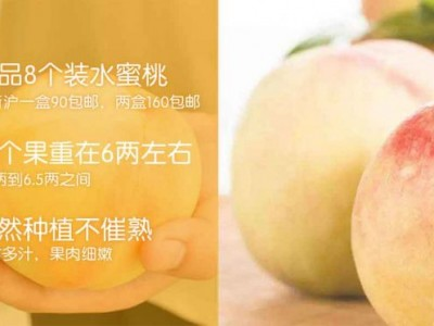 精品8个装水蜜桃